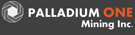 Palladium One Mining Inc. logo
